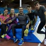 Los entrenadores en el Campeonato de España