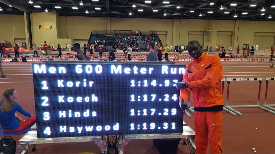 Emmanuel Korir, mejor marca mundial en 600