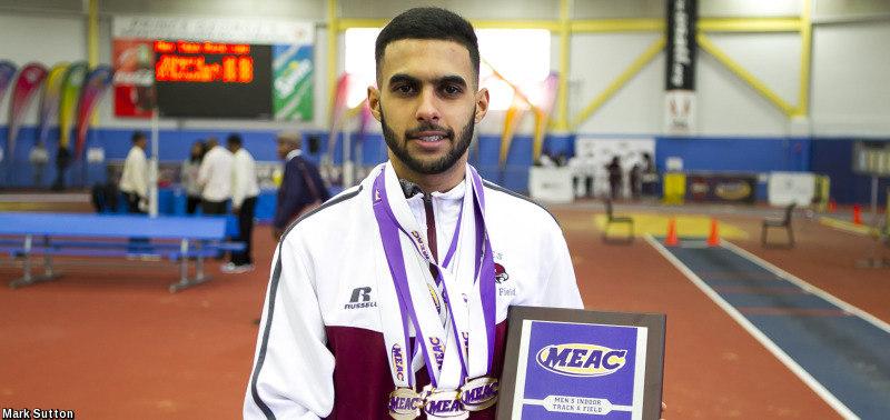 Khalil Rmidi vence en el MEAC Championship