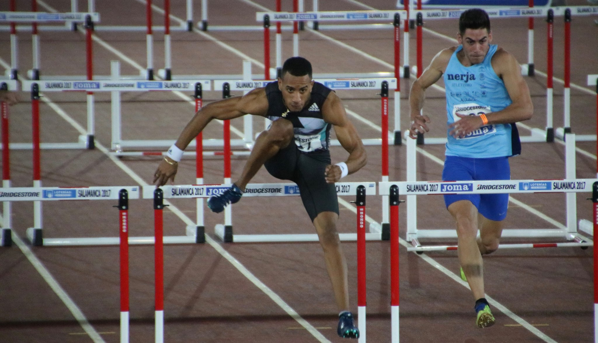 Espectacular jornada de atletismo