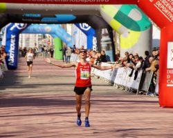 Pablo Villalobos y Clara Simal Campeones de España de Maratón