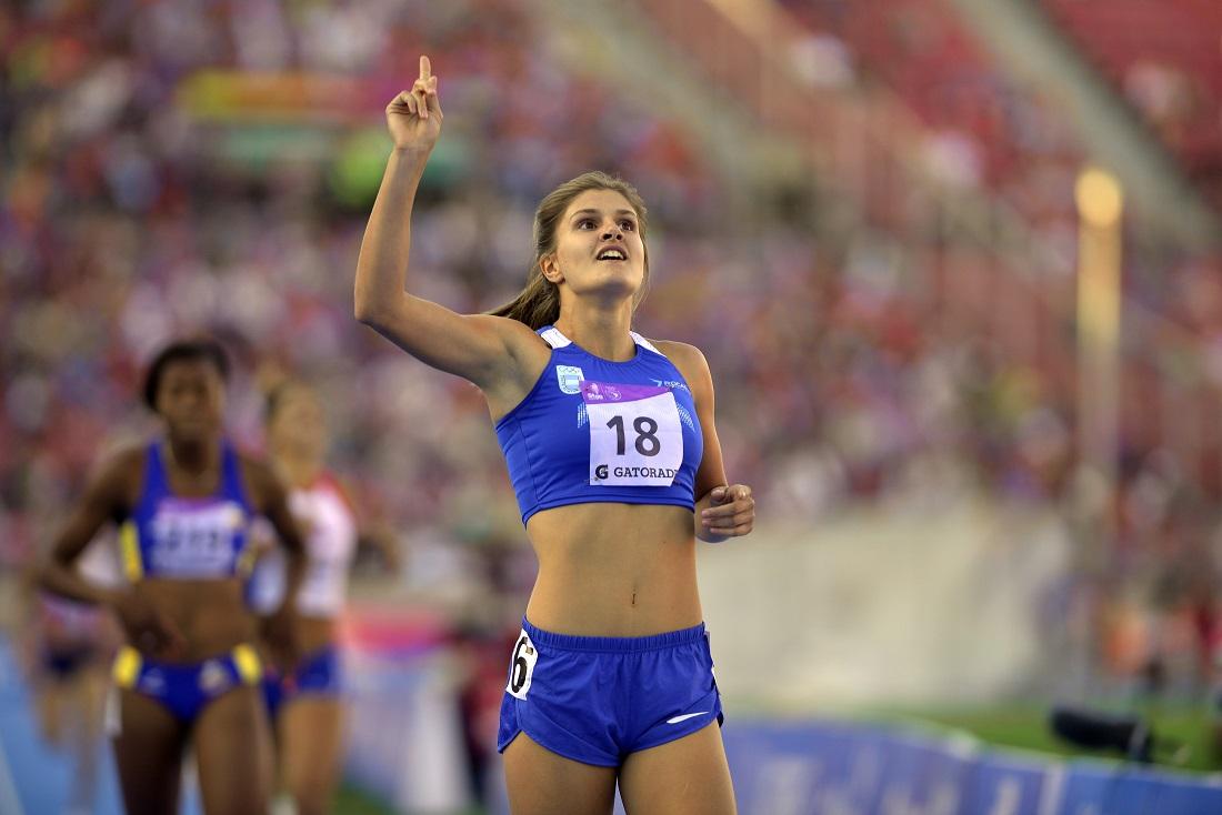 Fiorella Chiappe consigue el récord de Argentina de heptatlon