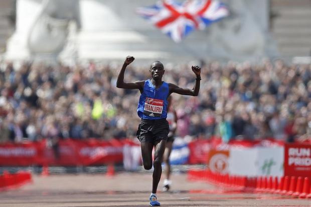 Daniel Wanjiru fue el ganador del Maratón de Londres