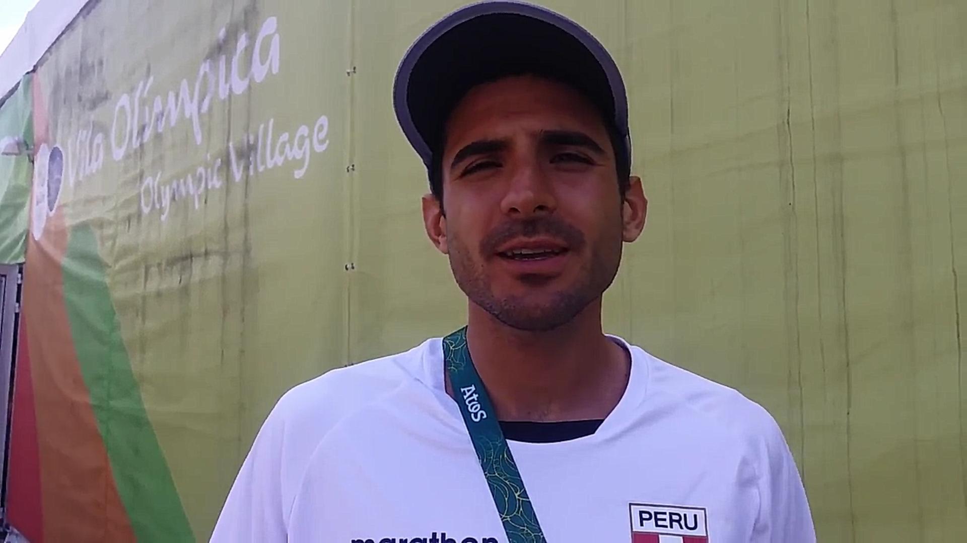 David Torrence, nuevo récord de Perú en 800