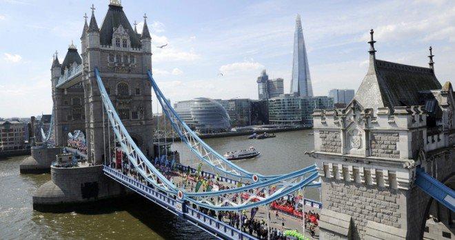 Todo listo para el maratón de Londres