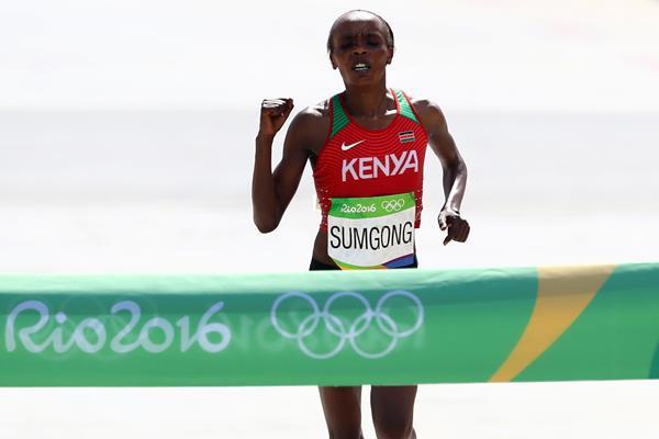 La keniana Jemima Sumgong sancionada por EPO