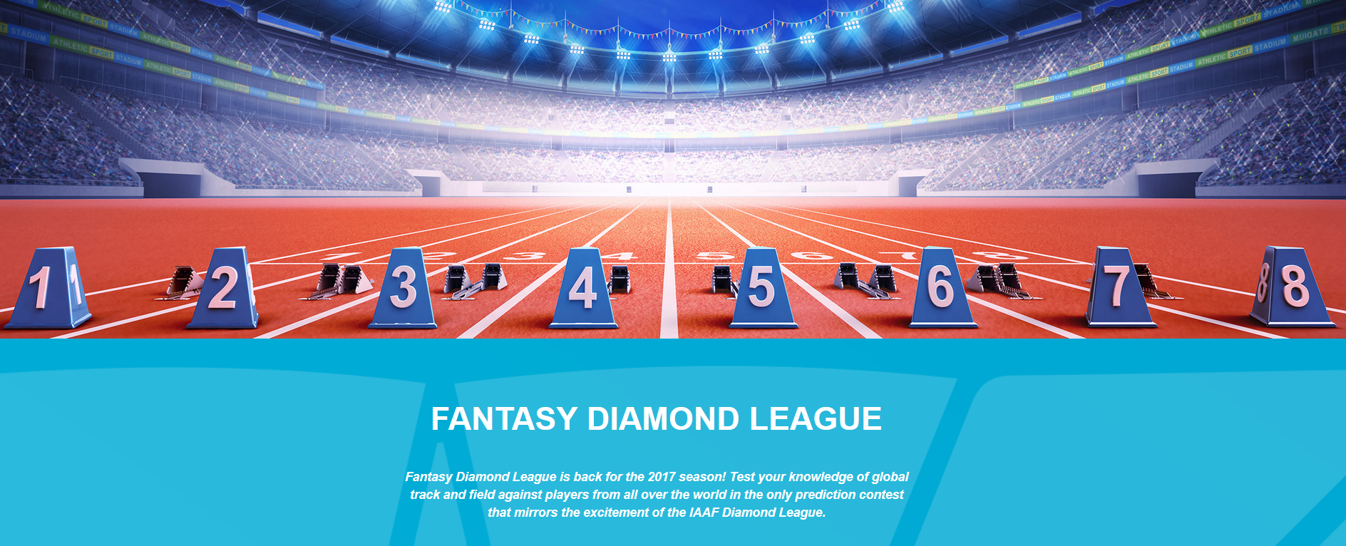 Equipo para la Fantasy de la Diamond League