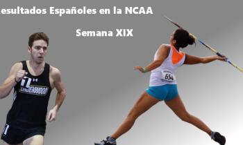 Resultados españoles en la NCAA (XIX)