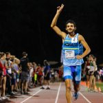 Tributo a David Torrence en la Long Island Mile