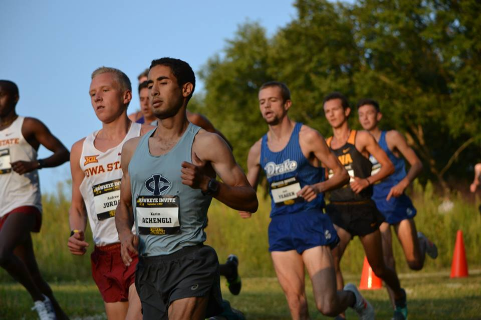 Karim Achengli, nueva victoria en la NCAA