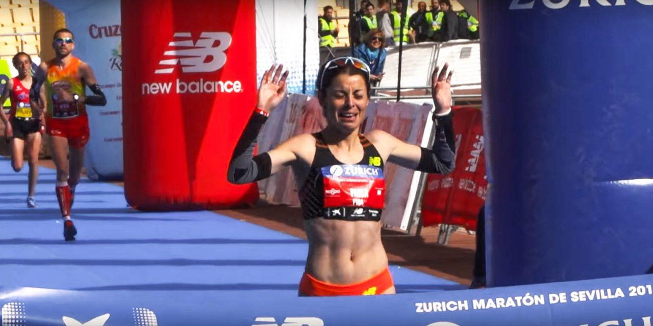 Paula González quiere correr el maratón de Sevilla