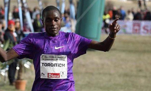 Timothy Toroitich buscará su cuarto título en el cross de Soria