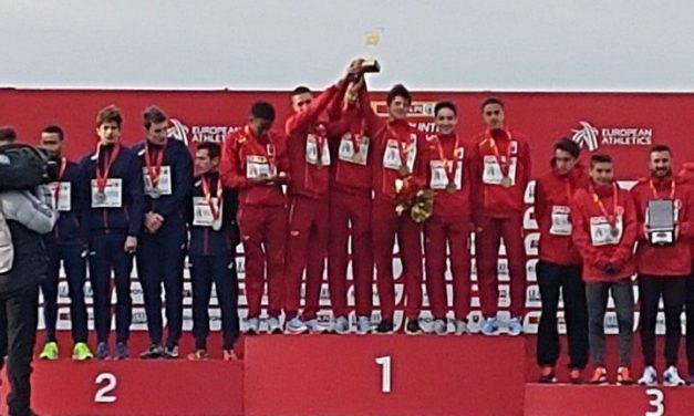Gran actuación española en el Campeonato de Europa de campo a través