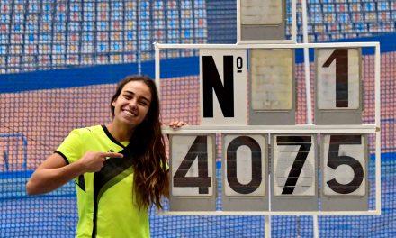 Carmen Ramos consigue el récord de España sub 20 de pentatlón