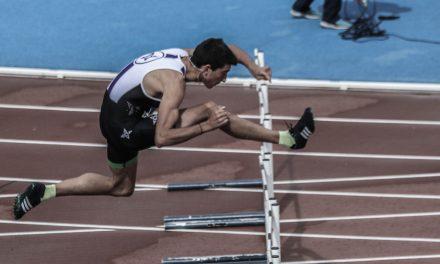 Quique Llopis consigue el récord de España Sub 18 en 60 mv