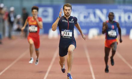Christophe Lemaitre no competirá en el mundial de Birmingham