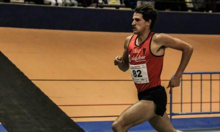 Sergio Jiménez consigue la mejor marca en València