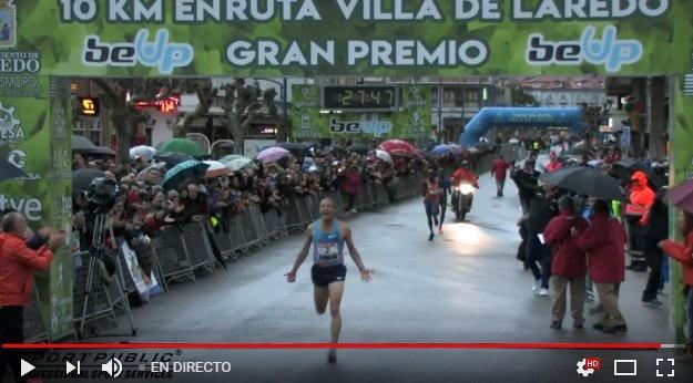 Toni Abadía consigue el récord de España de 10k