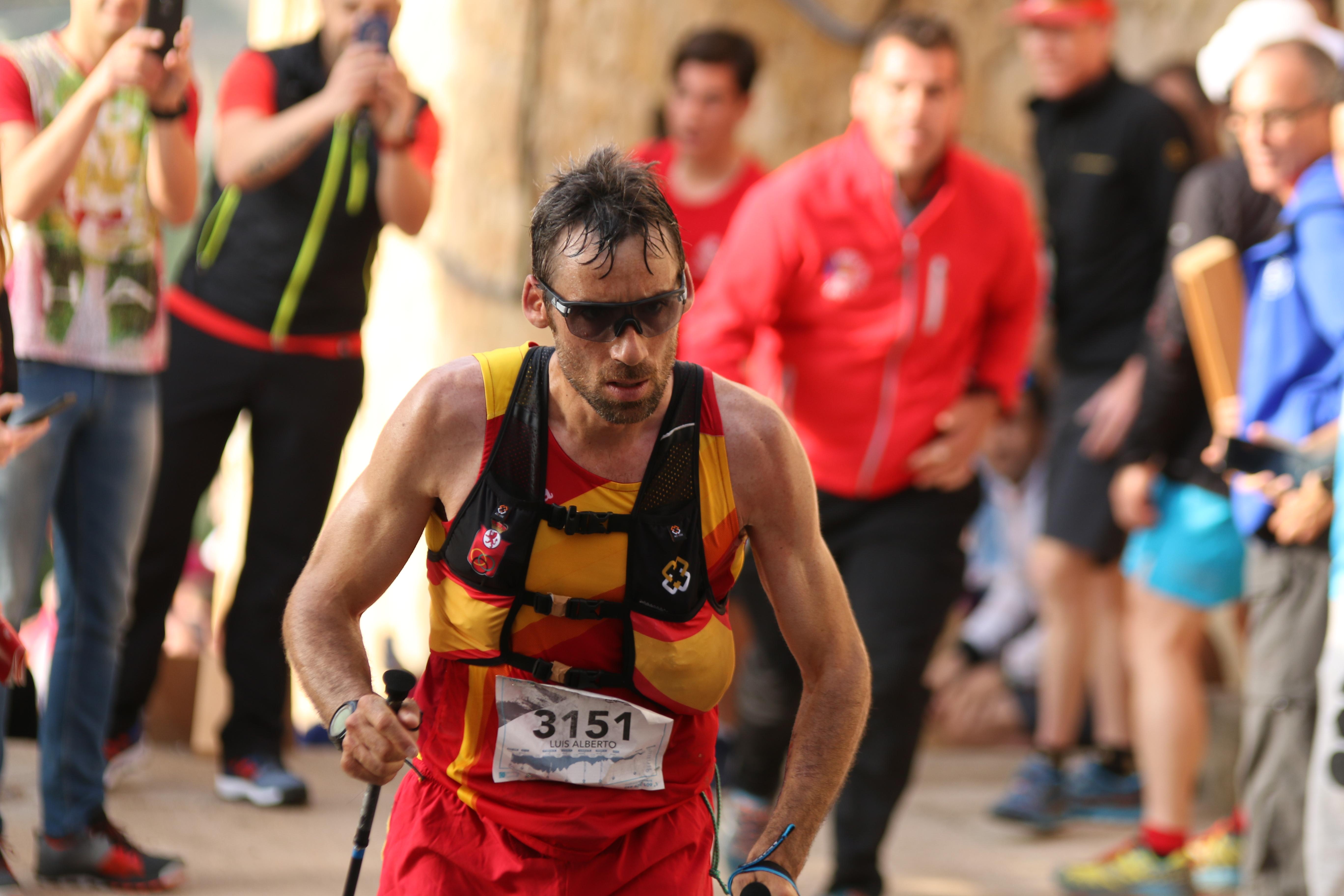 Luis Alberto Hernando Campeón del Mundo de trail