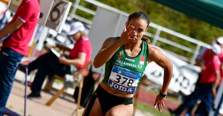 Carmen Ramos bate el récord de España de heptatlón