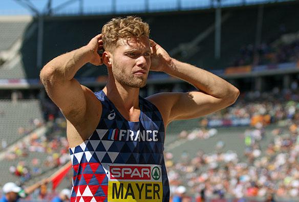 Kevin Mayer, a por el récord del Mundo de decatlón