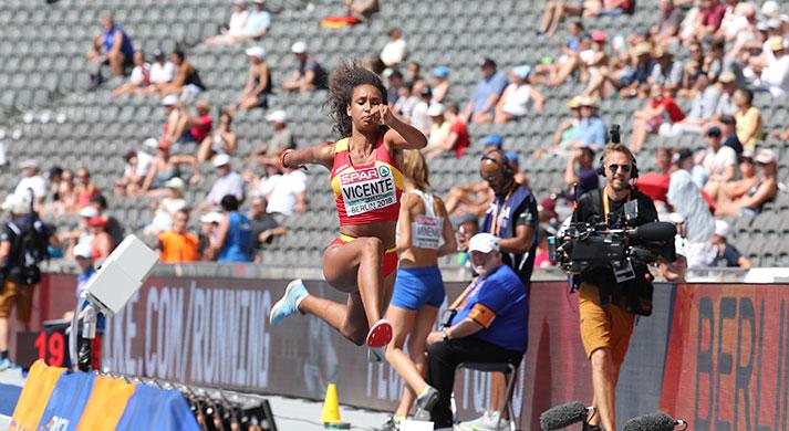María Vicente, subcampeona olímpica de la juventud