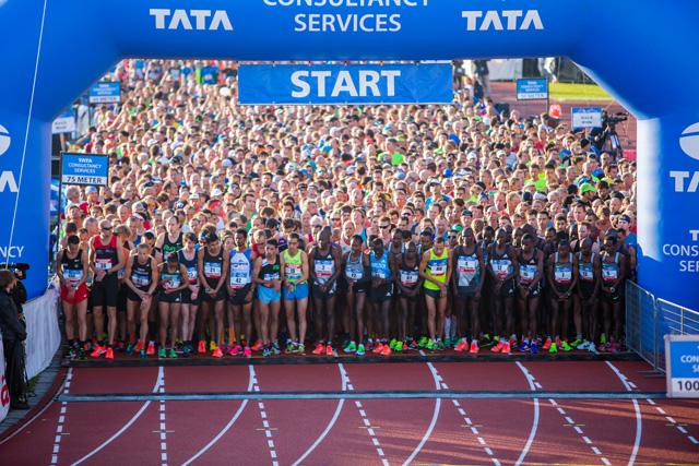 Maratón de Amsterdam con Kenenisa Bekele