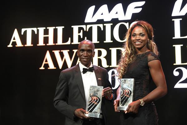 Ibarguen y Kipchoge, mejores atletas del año