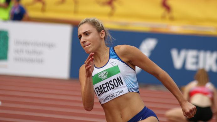 Niamh Emerson, líder del equipo de Gran Bretaña