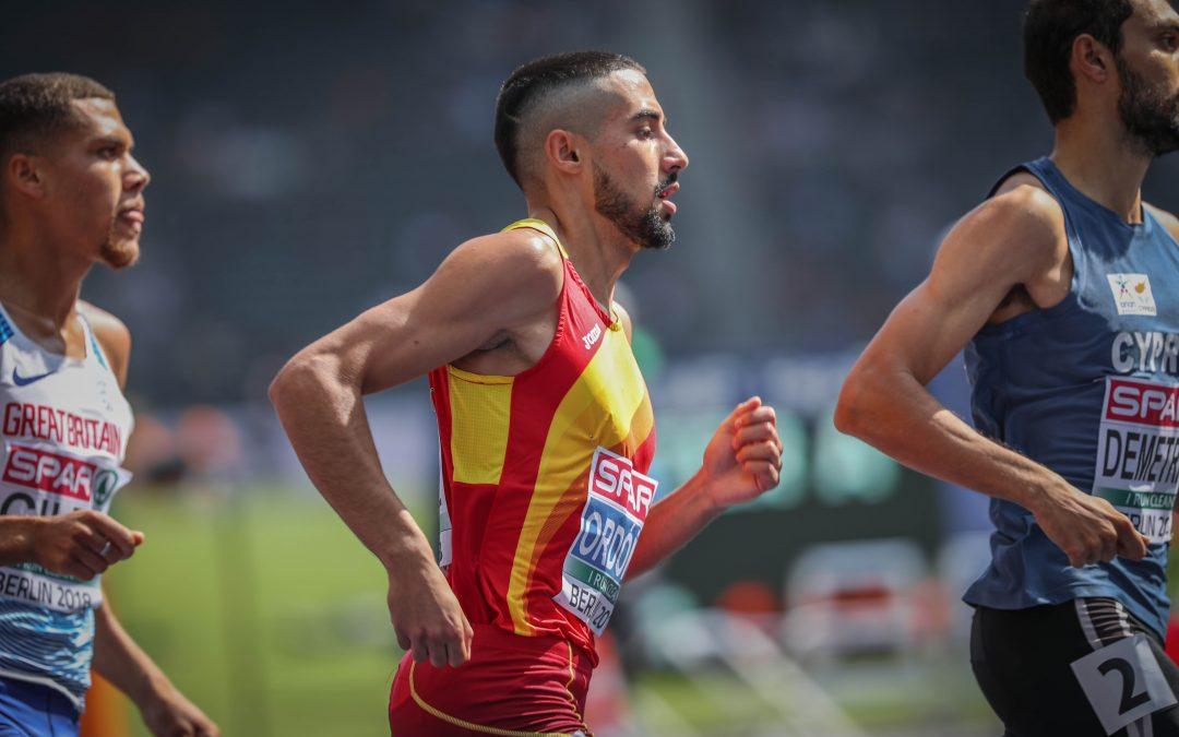 Saúl Ordóñez, tercero en Boston