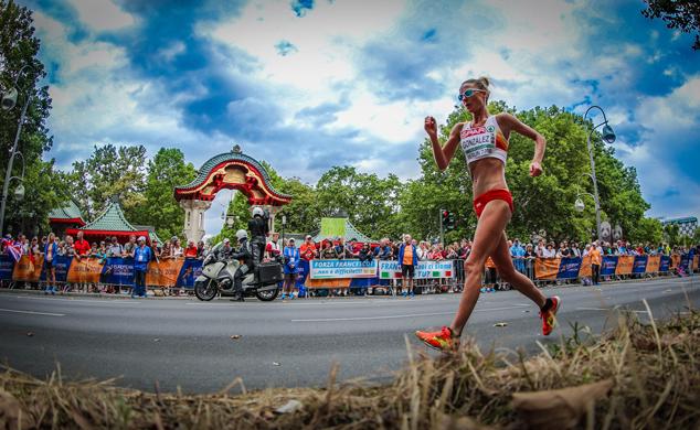 Raquel González bate el récord de España de 50 km marcha