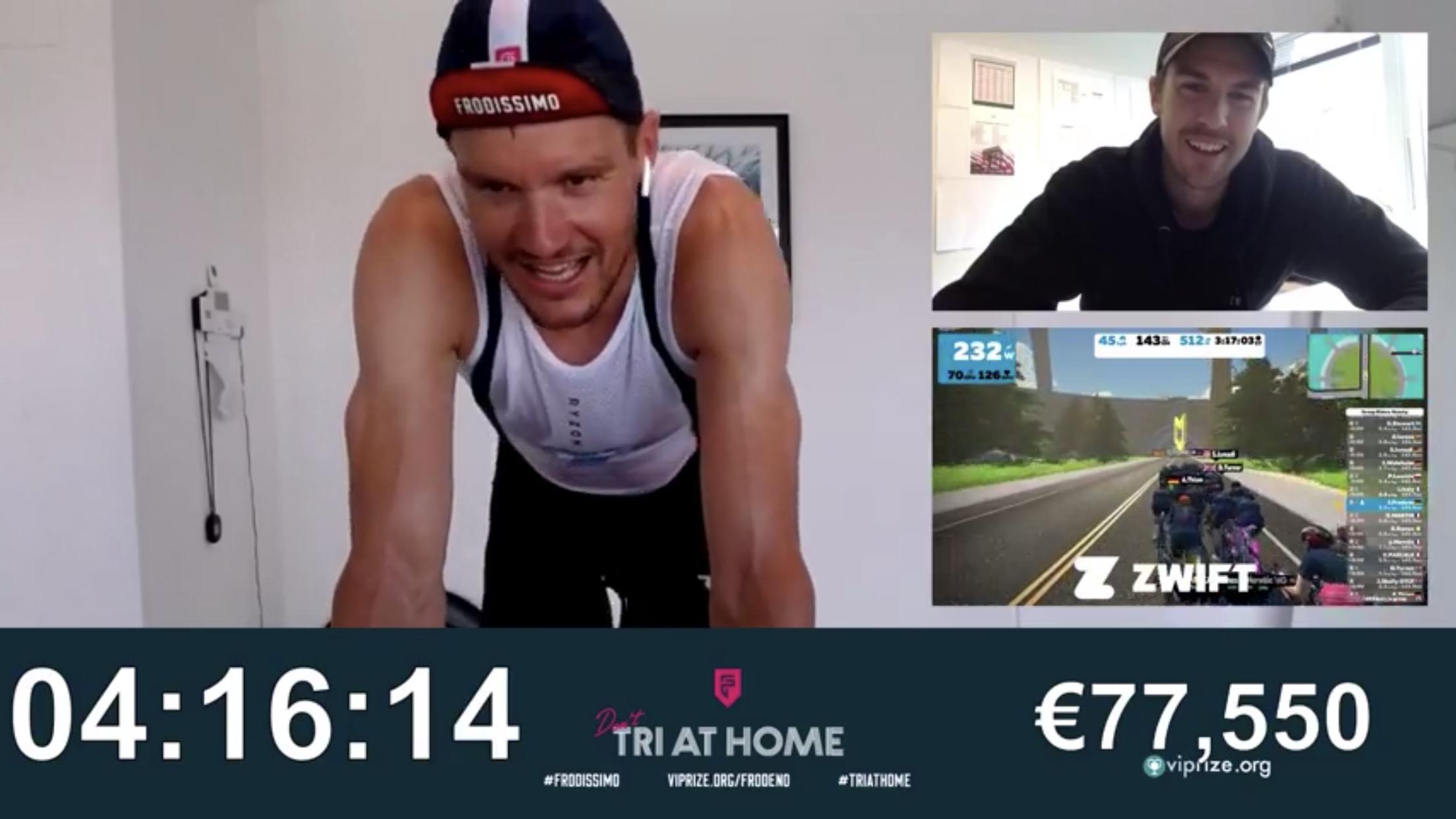 Jan Frodeno completa un Ironman en su casa